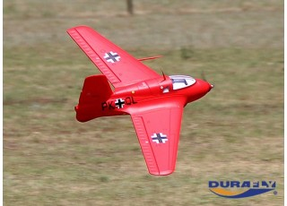 Durafly™ Me-163 Komet 950mm High Performance Rocket Fighter (PNF) (Red Edition)