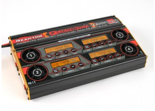 Turnigy Reaktor QuadKore 1200W 80A (4 X 300W 20A) Balance Charger now with NiZN and LiHV