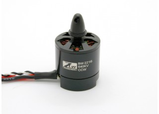 SCRATCH/DENT - Black Widow 2216 640KV With Built-In ESC CCW