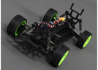 1/16 Brushless 4WD Mini Rally Car Top Off 3