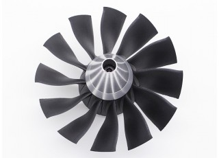12 blade high performance 90mm edf ducted fan unit. Black Bedroom Furniture Sets. Home Design Ideas