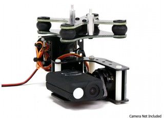 Turnigy Mobius 2 Axis Gimbal With Tarot Controller And
