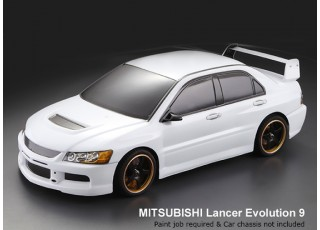 Mitsubishi Lancer Evolution Clear Body Shell
