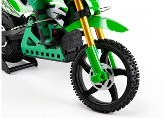 Super Rider Sr4 1 4 Scale Brushless Rc Motorcycle Arr Green