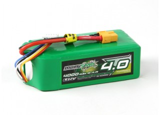 Multistar LiHV High Capacity 4000mAh 4S 10C Multi-Rotor Lipo Pack