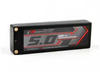 Turnigy Graphene 5000mAh 2S2P 90C Hardcase Lipo Pack (ROAR APPROVED)
