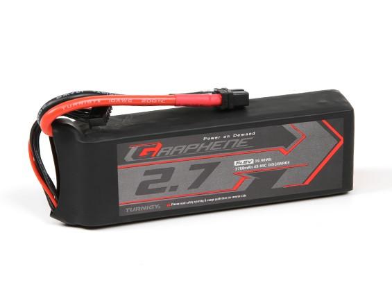 Turnigy Graphene 2700mAh 4S 65C Lipo Pack w/ XT60U
