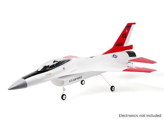 "H-King F-16 Falcon Jet 70mm EDF 670mm (26"") Wingspan EPO Kit Version"