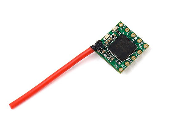 OrangeRx R614XN DSM2/DSMX Nano Indoor DIY Receiver with cPPM & PWM