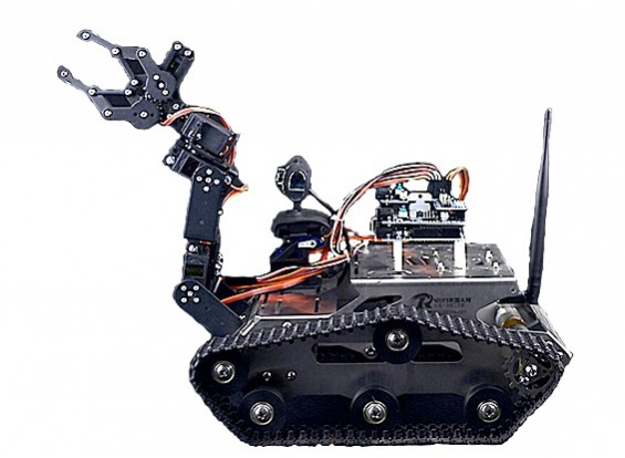 Programmable th robot with wifi and camera us plug