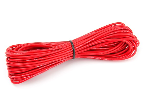 Turnigy High Quality 18AWG Silicone Wire 10m (Red)