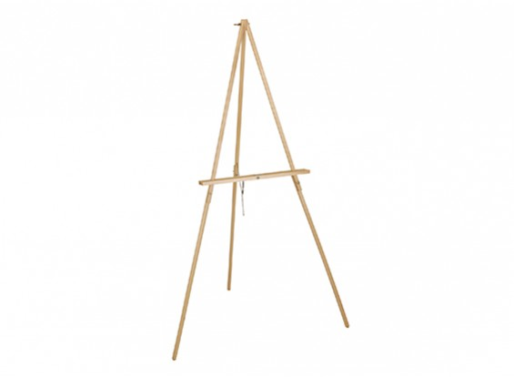 152cm Artists Pinewood Tripod Easel