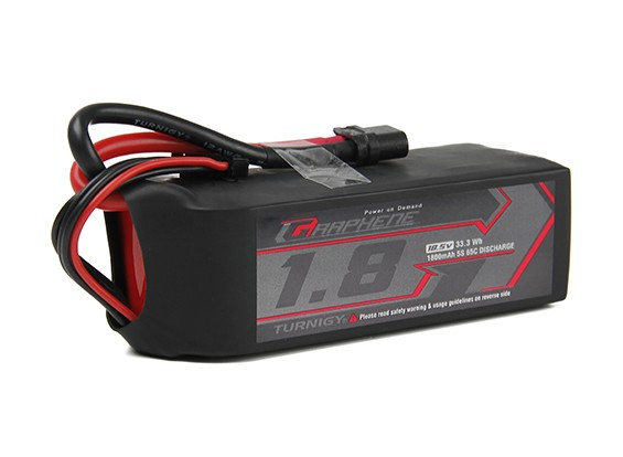 Turnigy Graphene 1800mAh 5S1P 65C Lipo Battery