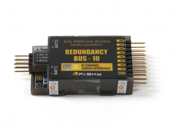 FrSky Redundancy Bus-10 8 Channel Servo Interface