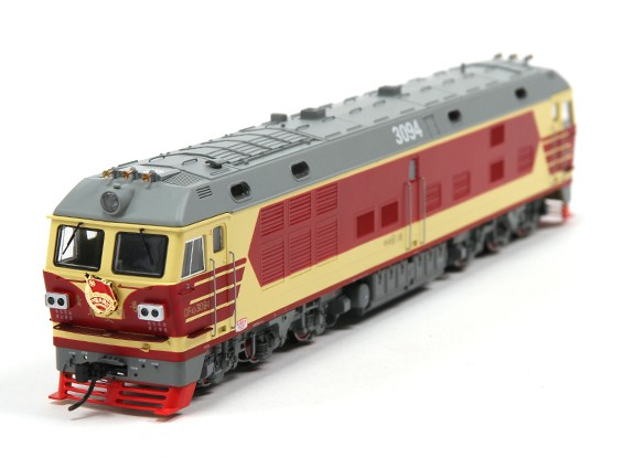 DF4DK Diesel Locomotive HO Scale (DCC Equipped) No.1 1