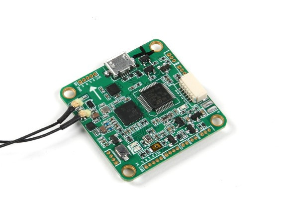 FrSKY XMPF3E Flight Controller with Builtin XM+ Receiver (EU Version)