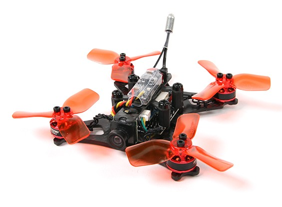 KingKong 90GT Brushless Micro 5.8Ghz FPV Drone Racer with FrSky Receiver (BNF)