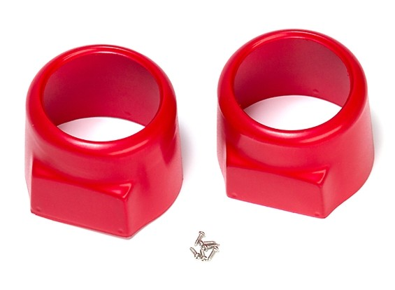 Avios BushMule - Cowls (Red) (Pair)