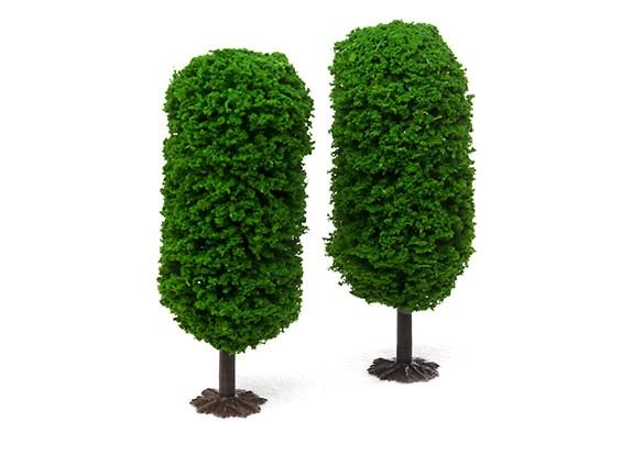 HobbyKing™ 120mm Scenic Model Trees with Base (2 pcs)
