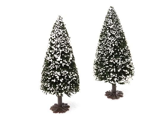 HobbyKing™ 120mm Scenic Model Fir Trees with Snow (2 pcs)
