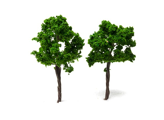 HobbyKing™ 90mm Scenic Wire Model Trees 16090-W90 (2 pcs)