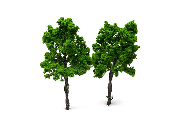 HobbyKing™ 110mm Scenic Wire Model Trees  (2 pcs)
