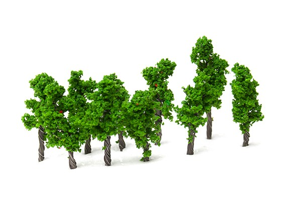 HobbyKing 32mm Scenic Wire Model Trees (10 pcs)