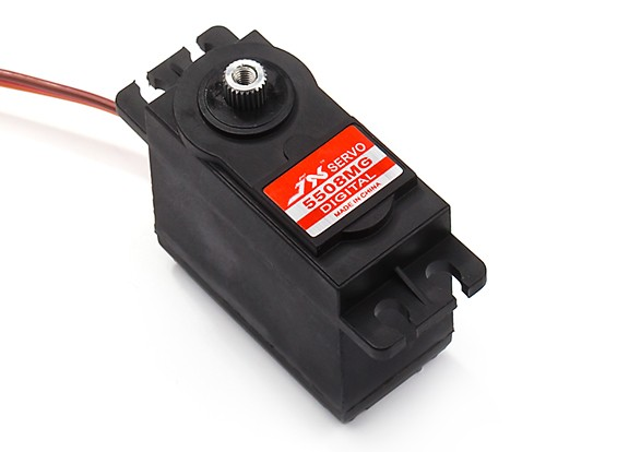 JX PDI-5508MG Coreless Metal Gear Digital Servo 8.2kg/0.07sec/55.6g