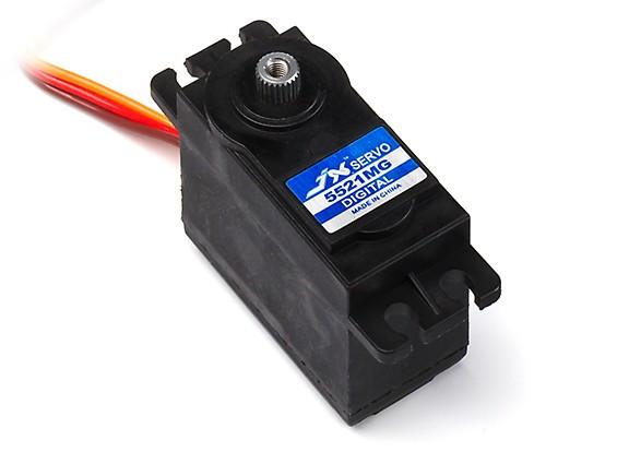 JX PDI-5521MG Coreless Metal Gear High Torque Digital Servo 20.32kg/0.16sec/55.6g