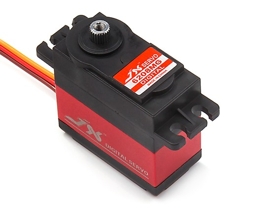 JX PDI-6208MG Coreless Metal Gear Digital Servo 8.2kg/0.07sec/62g