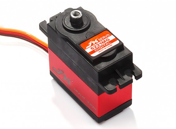 JX PDI-6221MG Metal Gear High Torque Digital Servo 20.32kg/0.16sec/62g
