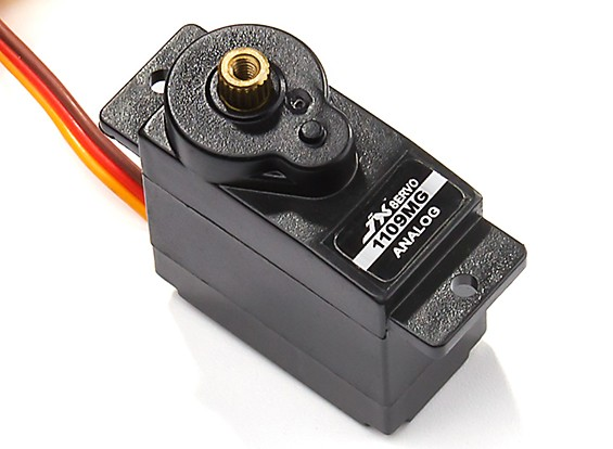 JX PS-1109MG Metal Gear Micro Analog Servo 2.5kg/0.10sec/10g