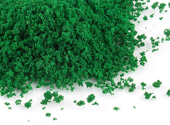 Sponge Foliage Scenic Scatter Powder (Dark Green)