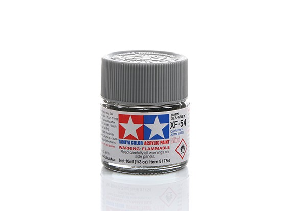 Tamiya XF-54 Flat Sea Grey Mini Acrylic Paint (10ml)