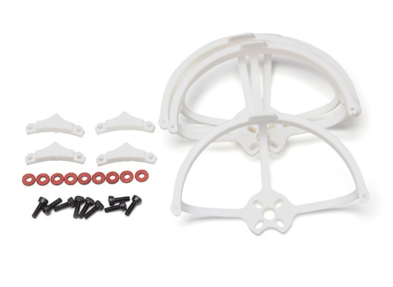 Kingkong 90GT 2.3 Inch Propeller Guards (White) (4pcs)