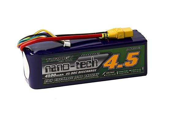 turnigy-battery-nano-tech-4500mah-6s-45c-lipo-xt90