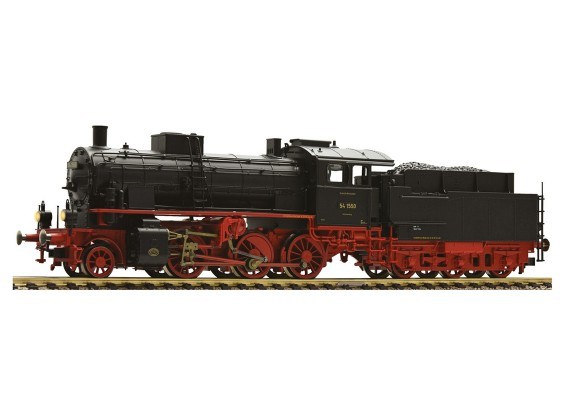 Roco/Fleischmann HO 2-6-0 Steam Locomotive 54.15-17 DRG with Fitted Decoder