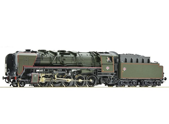 Roco/Fleischmann HO 2-10-0 Steam Locomotive 150X35 SNCF (DCC Ready)