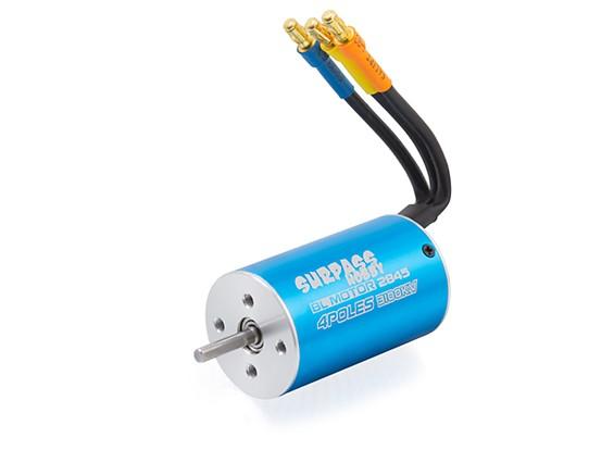 Surpass hobby 2845 4 pole brushless in runner motor 3100kv for Are brushless motors better