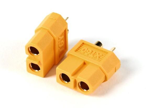 Female XT60 Connectors (5pcs/bag) GENUINE