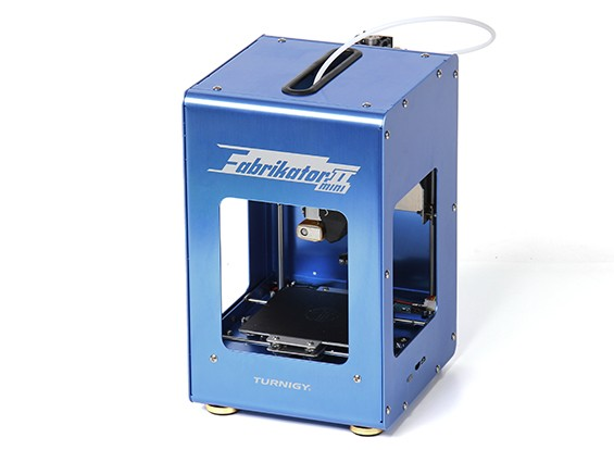 Mini Fabrikator V2 3D Printer - Blue (Limited Edition) (EU Plug)