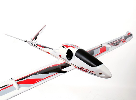 Durafly™ Zephyr V-70 High Performance 70mm EDF V-Tail Glider 1530mm (PNF)