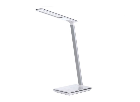 LED Desk Lamp With qi Wireless Charger Adjustable Color & Brightness