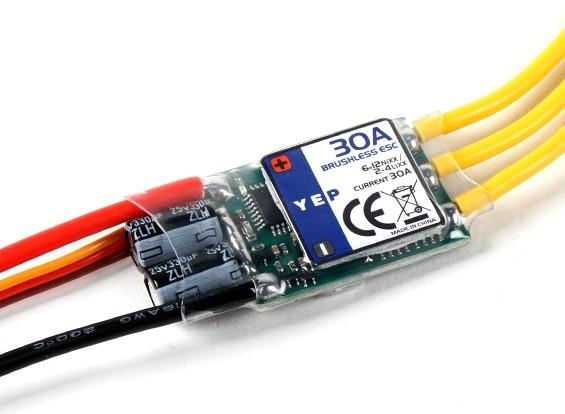 HobbyKing YEP 30A (2~4S) SBEC Brushless Speed Controller