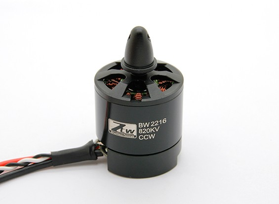 SCRATCH/DENT - Black Widow 2216 820KV With Built-In ESC CCW
