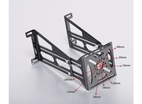 HXT Alloy Composite Firewall Mount Square-shape(150/110mm)