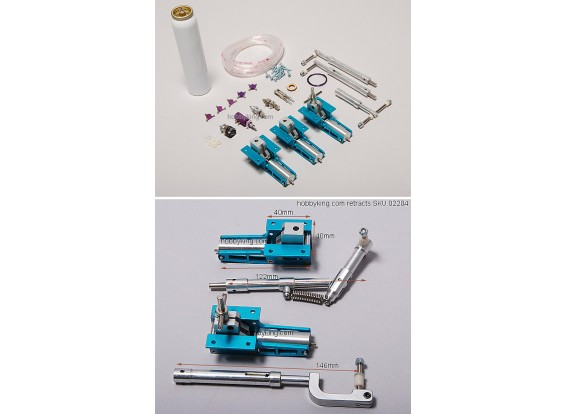 Air Operated Retract Kit w/spring 2-WayValve (model:2204)