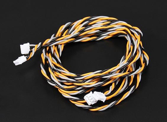 JR & Spektrum Satellite Receiver Extension Wire 60 & 90cm (2pcs/set)