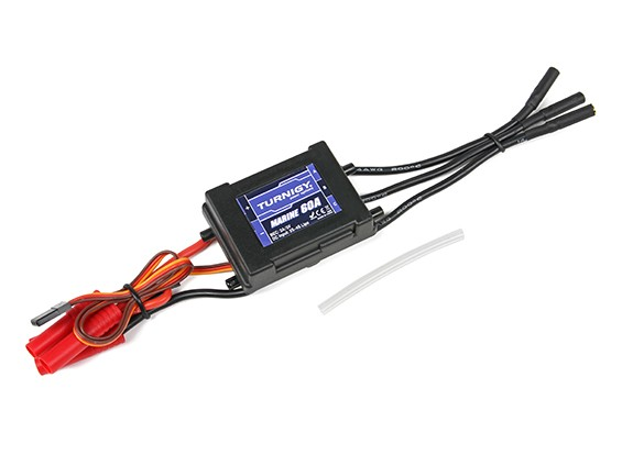 H-King Marine Scott Free & Relentless V2 Racing Boat Replacement 60A Water Cooled Brushless ESC