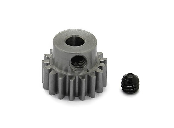 Robinson Racing Steel Pinion Gear 48 Pitch Metric (.6 Module) 17T